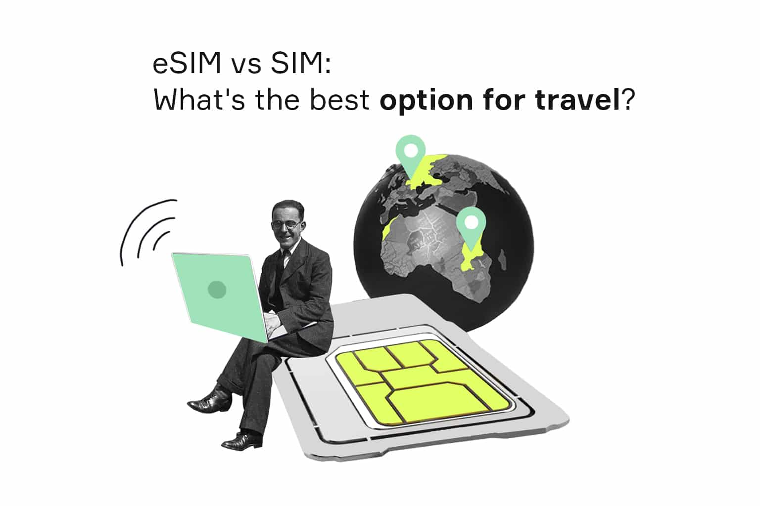 difference between esim and sim